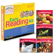 Newmark Learning SP Around the Clock Family Involvement Kits, SP Read Alone and Together, Math, Dealer Version (NL2070)