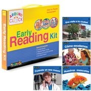 Newmark Learning SP Around the Clock Family Involvement Kits, SP Read Alone and Together, Social Studies (NL2071)