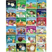 Newmark Learning SP Rising Readers, Nursery Rhyme Tales, Set 1 and 2, Single Copy Set, Pre-K-1 (NL2319)