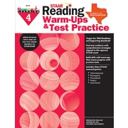 Newmark Learning STAAR Reading Warm-Ups & Test Practice, Grade 4 (NL2331)
