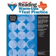 Newmark Learning STAAR Reading Warm-Ups & Test Practice, Grade 5 (NL2332)