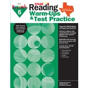 Newmark Learning STAAR Reading Warm-Ups & Test Practice, Grade 6 (NL2333)