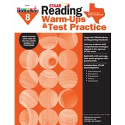 Newmark Learning STAAR Reading Warm-Ups & Test Practice, Grade 8 (NL2335)