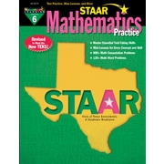 Newmark Learning STAAR Mathematics Practice, Grade 6 (NL3270)