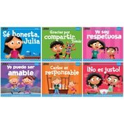 Newmark Learning MySELF, Social Emotional Learning Foundations, Me llevo bien con los demas, Single-Copy Set, PreK-1 (NL3321)