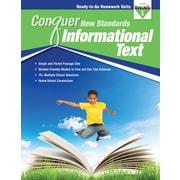 Newmark Learning Conquer New Standards, Informational Text, Grade 1 (NL3584)