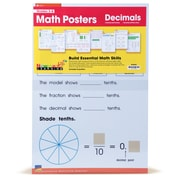 Newmark Learning Math Posters, Math Posters: Decimals, 3-8 (NL4634)