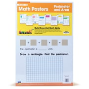 Newmark Learning Math Posters, Perimeter and Area, Grades 3-8 (NL4635)