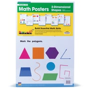 Newmark Learning Math Posters, Math Posters: Two-Dimensional Shapes, Grades 3-8 (NL4638)
