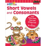 Newmark Learning Hands-On Phonics, Short Vowels and Consonants, K-2 (NL4645)