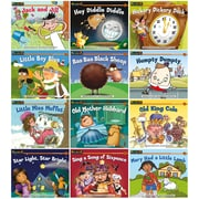 Newmark Learning Rising Readers Nursery Rhyme Tales, Set 1, Single-Copy Set, PreK-1 (NL0440)