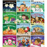 Newmark Learning Rising Readers Nursery Rhyme Tales, Set 2, Single Copy Set, PreK-1 (NL1067)