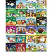 Newmark Learning Rising Readers Nursery Rhyme Tales, Sets 1 and 2, Single Copy Set, PreK-1 (NL1065)
