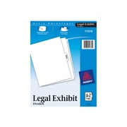 Avery Legal Exhibit 27 Tab Dividers, White, Set (11374)