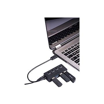 Sabrent 4 Port USB 3.0 Hub, (HB-UMP3)