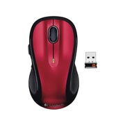 Logitech M510 910-004554 Wireless Laser Mouse, Red