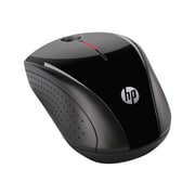 HP X3000 H2C22AA Wireless Optical Mouse, Metallic Gray/Glossy Black