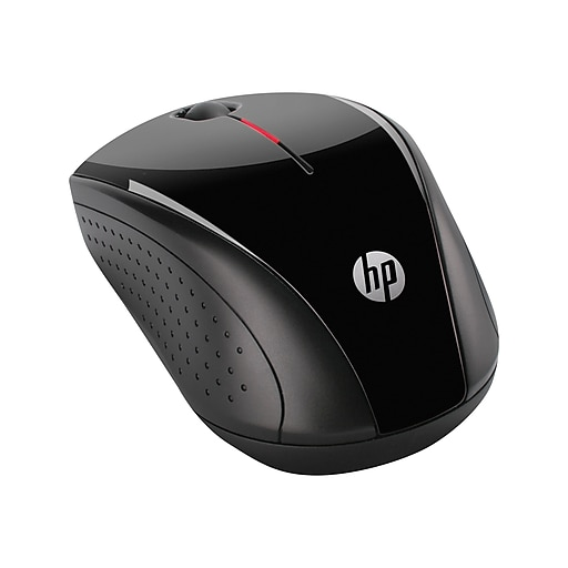 HP X3000 H2C22AA Wireless Optical Mouse, Metallic Gray/Glossy Black