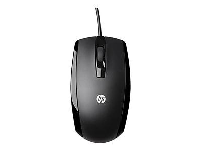 HP KY619AA Optical Mouse, Piano Black