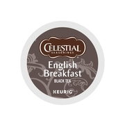 Celestial Seasons English Breakfast Tea, Keurig® K-Cup® Pods, 24/Box (14731)