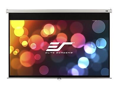 Elite Screens Manual Series M80NWV Auto-Locking Wall/Ceiling 80