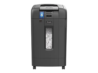 GBC Stack-and-Shred 750X 12-Sheet Super Cross Cut Commercial Shredder (1757578)