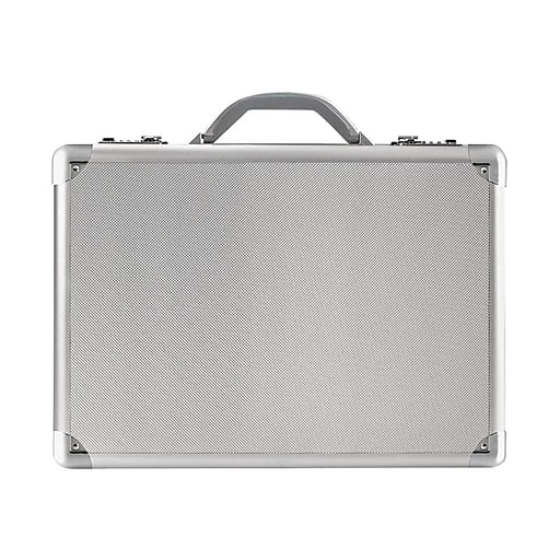 Solo Midtown Fifth Avenue Hard-Sided Aluminum Attache, Titanium (AC100-10)
