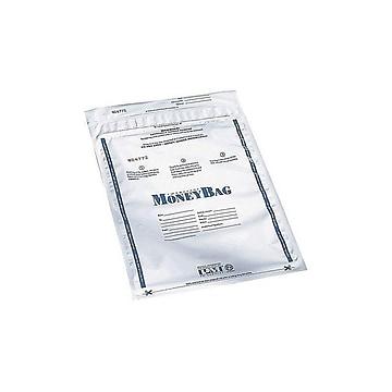 PM Company Deposit Bags, Clear, 100/Box (58002)