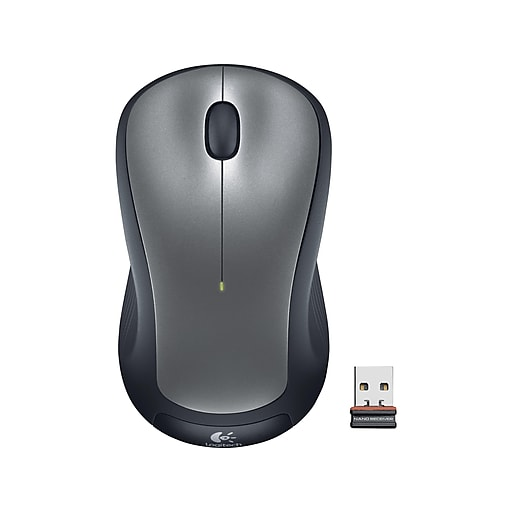 Logitech M310 910-001675 Wireless Optical Mouse, Silver