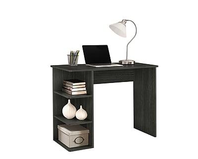 staples easy 2 go student desk with bookcases gray we of 0146g rh staples com