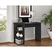 Easy 2 Go Student Desk with Bookcases, Gray (WE-OF-0146G)