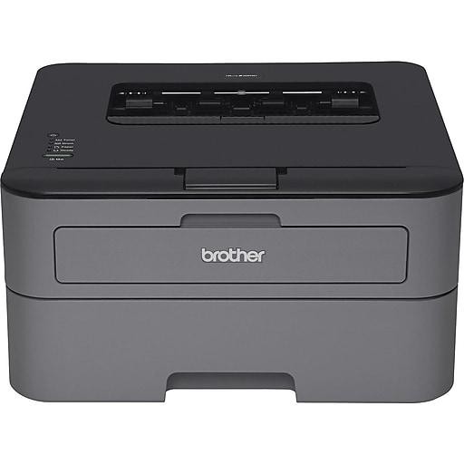 Brother HL-L2320D USB Black & White Laser Printer, Refurbished