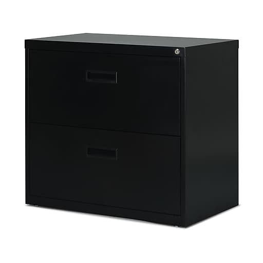 Staples 2 Drawer Lateral File Cabinet Locking Letter Black 30 Https Www 3p S7 Is