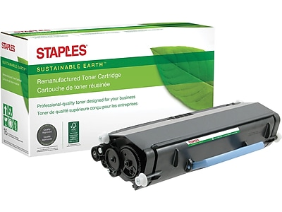 Sustainable Earth by Staples SEBD3330RDS Remanufactured Black Toner Cartridge, High Yield