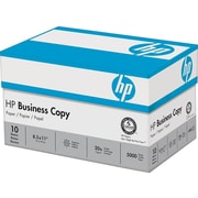 "HP 8.5"" x 11"" Business Paper, 20 lbs., 92 Brightness, 5000/Carton (HPBC11)"