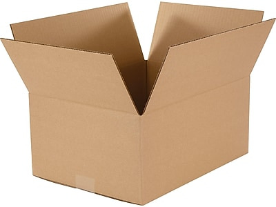 "15"" x 11"" x 6.5"" Shipping Boxes, Kraft, 25/Bundle (60-151106)"