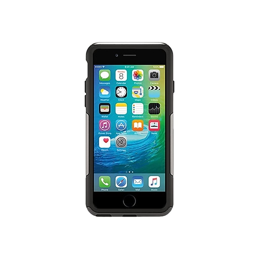 lowest price e6d82 bbe22 OtterBox Commuter Cover for iPhone 6 Plus/6s Plus, Black (77-55879)