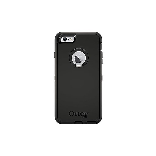 outlet store c435d 3f230 OtterBox Defender Clip/Holster for iPhone 6 Plus/6s Plus, Black (77-54931)