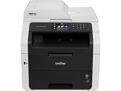 Brother MFC-9340CDW USB, Wireless, Network Ready Color Laser All-In-One Printer, Refurbished