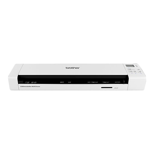 Brother Refurbished DSMobile DS-920DW Wireless Portable Scanner, White