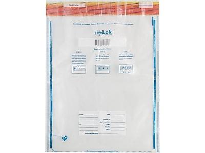 TripLok Series E Deposit Bags, Clear 50/Pack (585048)