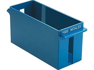 MMF Industries Porta-Count Nickels - $100 Tray, Blue (212070508)