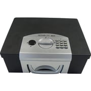 MMF Industries STEELMASTER Electronic Security Cash Box, Black (22104)