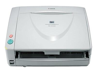 Canon ImageFORMULA DR-6030C 4624B002 Desktop Scanner, Gray/White