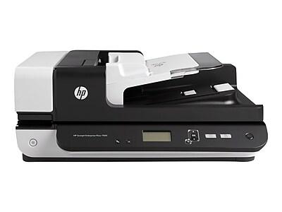 HP ScanJet Enterprise Flow 7500 L2725B#BGJ Desktop Scanner, Black/White