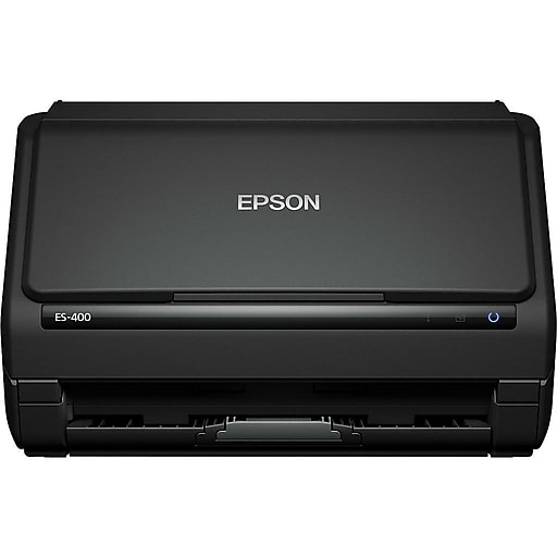 Epson WorkForce ES-400 B11B226201 Desktop Scanner, Black