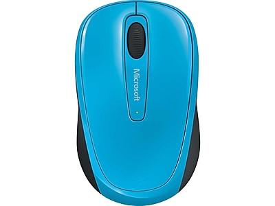 Microsoft Mobile 3500 GMF-00273 Wireless Bluetrack Mouse, Cyan Blue