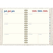 """2019-2020 AT-A-GLANCE 5 1/2"""" x 8 1/2"""" Emily + Meritt Weekly/Monthly, The Faded Leopard Planner (EM202-805A-20)"""