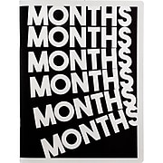 """2019-2020 AT-A-GLANCE 8 1/2"""" x 11"""" Monthly The Months & Months Planner (EM200-091A-20)"""