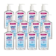 Purell Advanced Refreshing Gel Hand Sanitizer, Clean Scent, 12 oz., 12/Carton (3659-12)